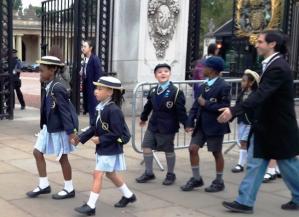enfants à Buckingham