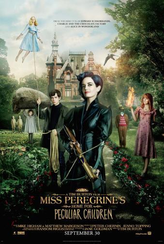 l'affiche de Miss Peregrine