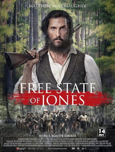 Free state of Jones, l'affiche