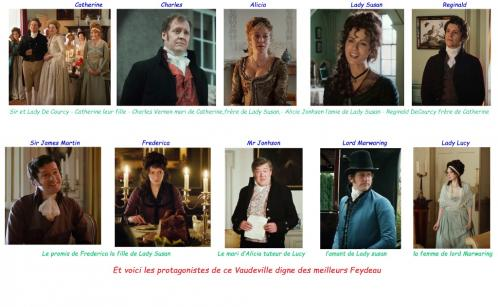 Love and Friendship les protagonistes