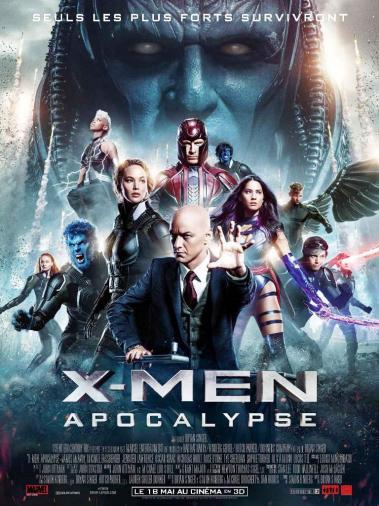X-Men l'affiche