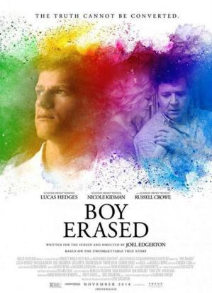 Affiche Boy Erased