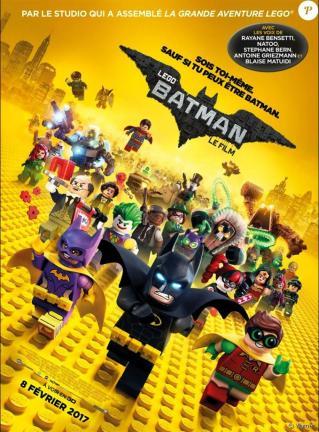 Affiche de lego batman