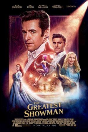 Affiche greatest showman