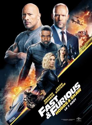 Affiche hobbs and shaw