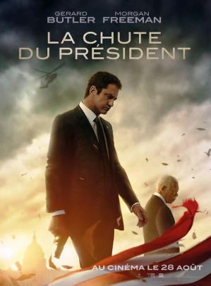 Affiche la chute du president