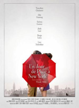 Affiche pluie new york
