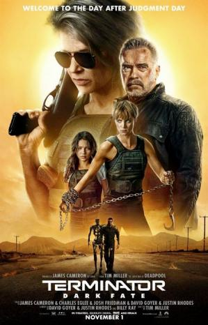 Affiche Terminator dark fate