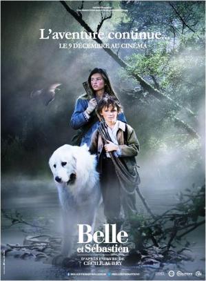 Belle et sebastien l'affiche