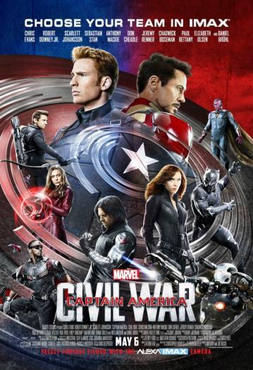 Captain america affiche
