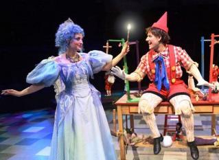 Fée bleue et Pinocchio