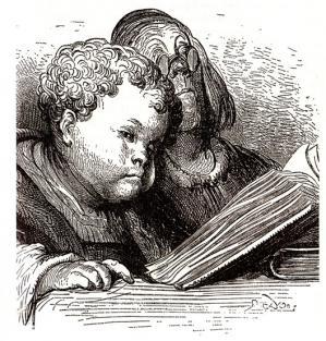 Gargantua vu par Gustave Doré