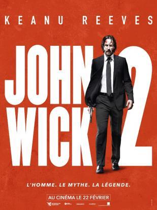 John Wick 2 affiche