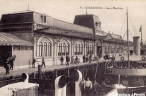 La gare de Cherbourg 1912