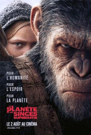 La planete des singes suprematie