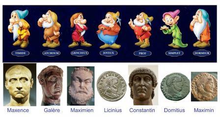 Les 7 empereurs