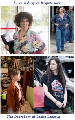 Les acteurs de roulez jeunesse
