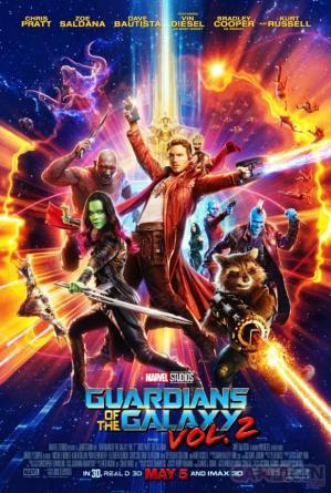 Les gardiens de la galaxie vol 2 affiche