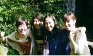 Les quatre amies - la photo