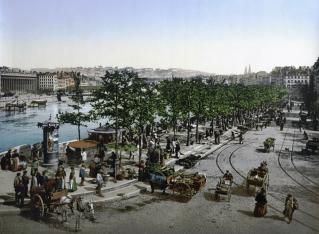 Lyon marché Saint-Antoine