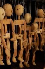 Marionnettes en bois