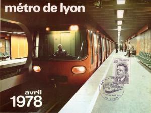 Metro de Lyon 1978