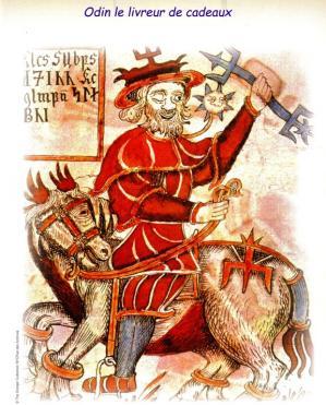 Odin le livreur de cadeaux