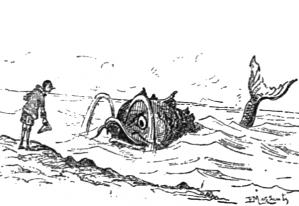 Pinocchio et le dauphin