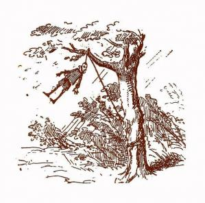 Pinocchio pendu