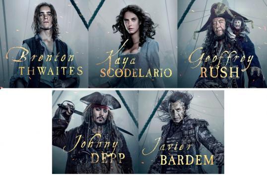 Pirates5 - les acteurs