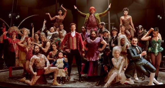 The greatest showman la troupe
