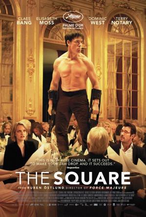 The square affiche