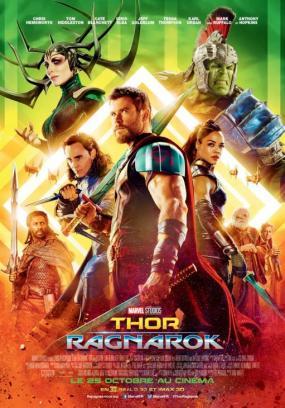 Thor ragnarok affiche