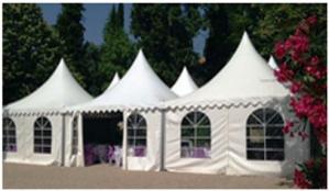Toiles de tentes évènementielles