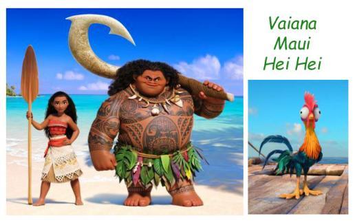 Vaiana-Maui-Hei hei