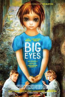 Affiche big eyes 01