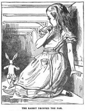 Alice et l'éventail