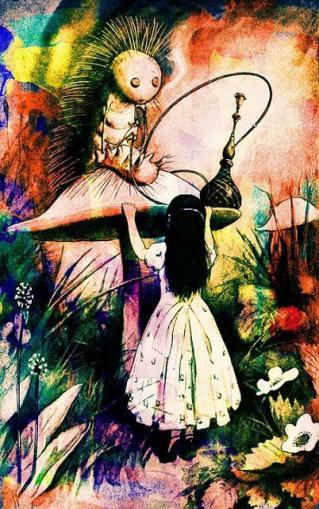 Alice et le chenillon