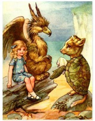 Alice le griffon et la tortue