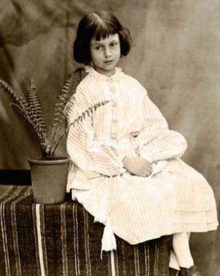 Alice Liddell photo de Lewis Carroll