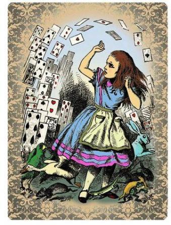 l'attaque des cartes