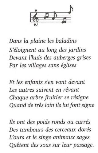 Baladins les paroles