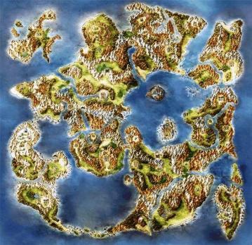 Carte des rêves