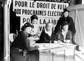 Droit de vote Louise Weiss 1934