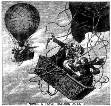 Duel en montgolfiere