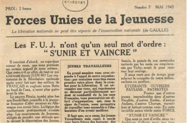 FUJ extrait du journal de mai 1943