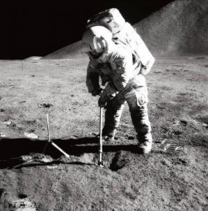 Golf sur la lune