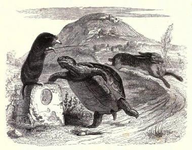 Grandville gravure
