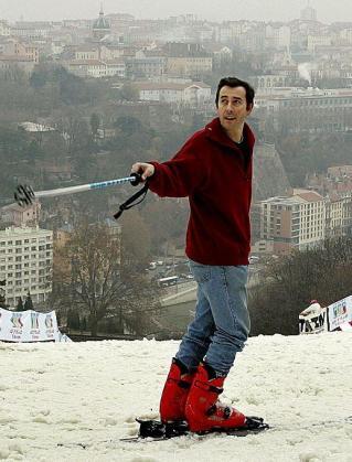 La Sarra skieur