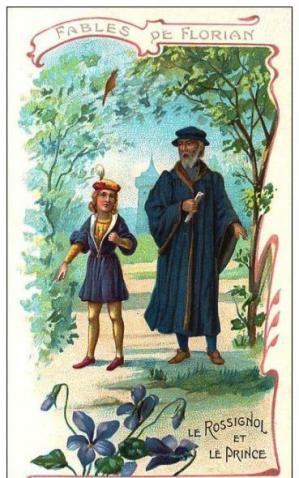 Le Rossignol et le Prince image de Florian